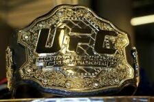 UFC Ultimate Fighting Championship Replica Dual plated Belt ZINC PLATE