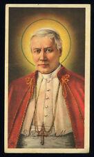 santino-holy card ediz.AR serie Z/251 S.PIO X PAPA