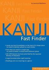Kanji Fast Finder: This Kanji Dictionary Allows You to Look Up Japanese Characte