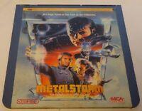 Vintage CED Video Disk Metalstorm The Destruction of Jared Syn