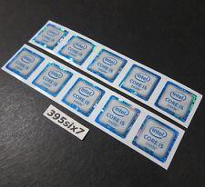 10PCS - Intel CORE i5 inside Sticker 18mm x 18mm - 6th Generation