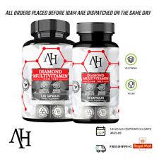 Diamond Multivitamin 60 / 120caps Vitamin A C D E K Apollo's Hegemony - UK Stock