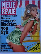 Neue Revue 32/1972,  Michael Schanze, FKK Sylt, Simon Templer, Tony Curtis