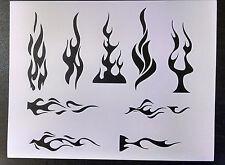 Flames Tribal Flame Fire Pin Stripe 11