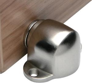 Hapsun Magnetic Door Stop Catch,Stainless Steel Brushed Door Stopper Floor Mount