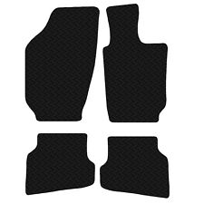 Volkswagen Polo 6R 2009 Onwards Black Floor Rubber Tailored Car Mats 3mm 4pc Set