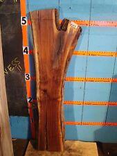 "# 8759,  2 3/4"" thick Black Walnut Live Edge Slab lumber craft wood"