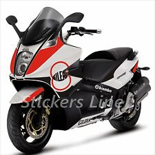 adhésifs carénage gilera GP800 kit autocollant GP 800 stickers RACING