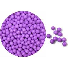 Edible Sugar Pearls Dragees Decoration Balls - LAVENDER 2 oz.