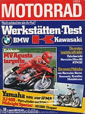 3706M Motorrad 1980 16/80 Kawasaki S1 Hercules Ultra 80 MV Agusta 750 RD 350