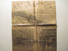 Chicago Herald And Examiner, 1937 Flood Page. ( Louisville KY, Evansville IN)