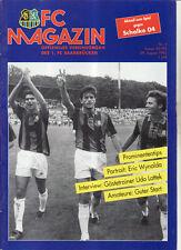 BL 92/93 1. FC Saarbrücken - FC Schalke 04