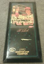 Jebco 1992 Winston Cup Champion Limited Edition Clock Alan Kulwicki 8287/10,000
