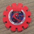 Marvel Heroes Super Disc #1 Spider-Man Woolworths Great Condition