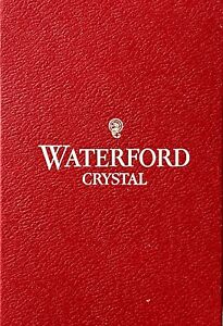 Waterford Crystal red Boxe ONLY no crystal
