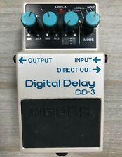 2009 Boss DD-3 Digital Delay Guitar Effect Pedal, Taiwan, Black Label