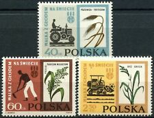 Poland 1963 SG#1358-1360 Freedom From Hunger MNH Set #E12674