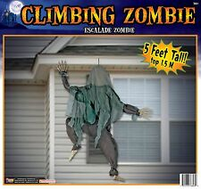 Wall Climbing Zombie 5Ft. Halloween Party Decorations