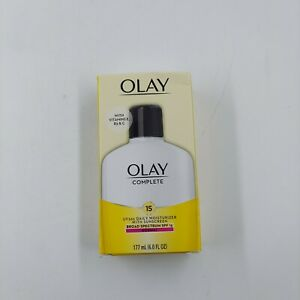 NEW Olay Complete Lotion All Day Moisturizer with SPF15 for Normal Skin 6 Fl Oz
