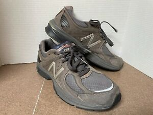 New Balance M2040GL1 Limited Edition Gray Suede Made In USA 12D