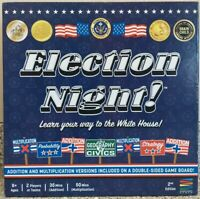 "*New I.O.B."" Election Night! Board Game 2020 Semper Smart Games"