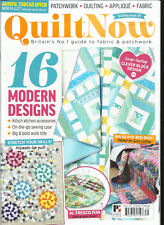QUILT NOW MAGAZINE,   ISSUE, 39   FREE GIFTS OR INSERTS ARE NOT INCLUDED.