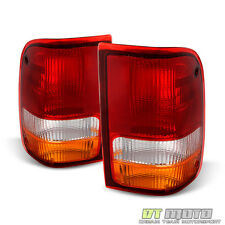 1993-1997 Ford Ranger Rear Tail Lights Brake Lamps Set Left+Right 93 94 95 96 97