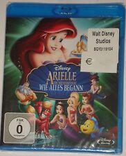 Arielle Die Meerjungfrau wie alles begann  Blu Ray NEU Walt Disney Teil 3