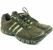 Adidas A3 Bounce Burst Mens Size 13 Suede Running Walking Hiking Brown Gold RARE