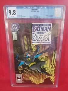 💥BATMAN 417💥 - CGC 9.8 NM/MN - First Appearance KGBeast