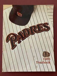 San Diego Padres 1985 Yearbook VG Condition