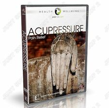 Acupressure : Pain Relief : Natural Healing : New DVD
