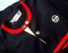 SWEATER vintage '80s  SERGIO TACCHINI  TG.3 veste S/M circa  made in Italy RARE