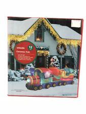 Vidamore Christmas Train Inflatable: LED lights | Electric Inflatable (SOR105)