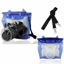 PC DSLR SLR Camera Waterproof Underwater Housing Case Pouch Bag for Canon Nikon