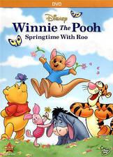 WINNIE THE POOH SPRINGTIME WITH ROO New Sealed DVD Disney