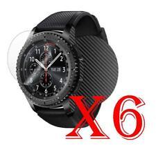 6 PZ PELLICOLA PROTEZIONE Samsung Gear S3 Frontier PELLICOLE PROTEGGI SCHERMO