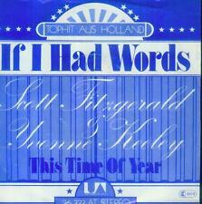 "7"" Scott Fitzgerald & Yvonne Keeley/If I Had Words (D)"