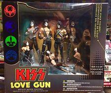 KISS - Love Gun Deluxe Action Figure Box Set. McFarlane RARE L@@K