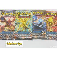 x4 XY Steam Siege *FULL ART SET* Pokemon Booster Packs TCG