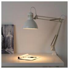 IKEA TERTIAL White ADJUSTABLE RETRO WORK LAMP DESK TABLE CLAMP