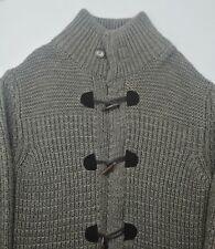 Cv2 Long Cardigan Giacca Maglia da Donna Cardigan Poncho Bottoni S M L XL Cappotto