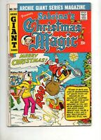 Archie Giant Series #207 SABRINA 'S CHRISTMAS MAGIC (#2) HIGH GRADE VF 8.0! 1972