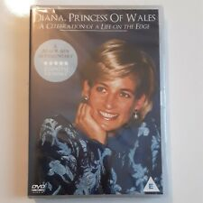 * NEW SEALED DVD DOCUMENTARY FILM * DIANA PRINCESS OF WALES - LIFE ON THE EDGE