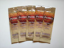 5 Designer Skin PARAMOUR Rapid Release Bronzer Indoor Tanning Lotion Packets