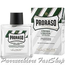 Crema Liquida DopoBarba Rinfrescante Tonifica Proraso ® refreshing invigorating