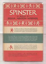 SPINSTER by SYLVIA ASHTON-WARNER 1959 1st EDITION W/DJ 1st PRINT