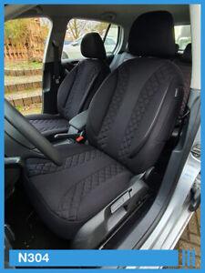 Maß Sitzbezüge Nissan Qashqai I J10 Fahrer /& Beifahrer ab BJ 2007-2013 PL402