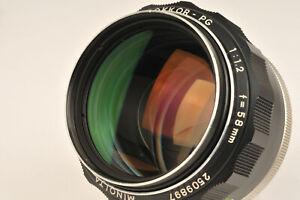 Minolta Rokkor - PG 58mm f/1.2 Fast Prime Lens