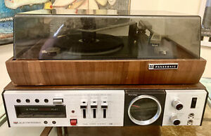 MORSE Electrophonic 8 TRACK player Panasonic record player model RD-7673